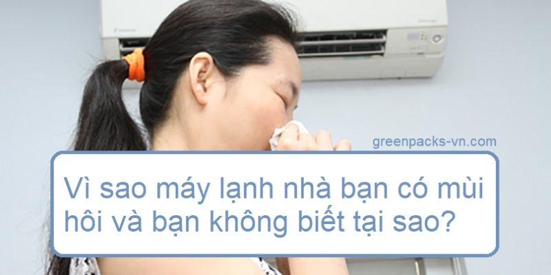 Vì sao máy lạnh nhà bạn có mùi hôi và bạn không biết tại sao?